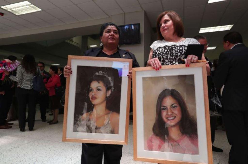 La alerta para búsqueda de mujeres lleva el nombre de Isabel Franco y Claudina Velásquez, ambas víctimas de violencia. (Foto Prensa Libre: Hemeroteca PL)