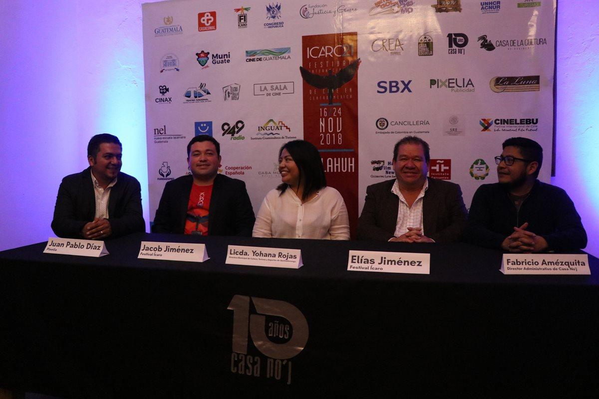 Organizadores del evento dieron a conocer en Quetzaltenango los detalles y las producciones que se presentarán durante el festival.