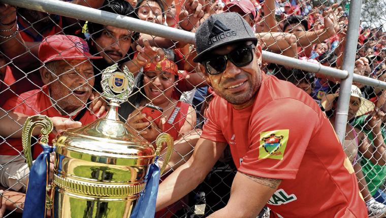 El portero Paulo César Motta regresa a Municipal, equipo con el que fue campeón en el Clausura 2017. (Foto Prensa Libre: Hemeroteca PL)