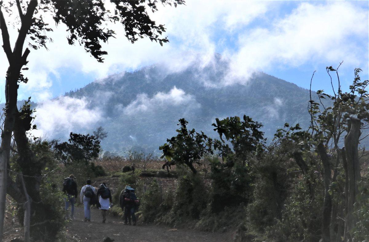 Frío será intenso en el volcán Acatenango, recomiendan no ascender para evitar tragedias