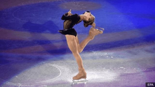 El triunfo de Trusova fue el séptimo título de Rusia en el Campeonato Mundial Juvenil en los últimos ocho años. (Foto Prensa Libre: BBC Mundo)