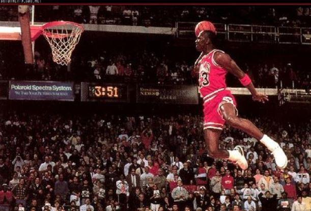 Michael Jordan marcó la historia del baloncesto de la NBA. (Foto Prensa Libre: Hemeroteca PL)