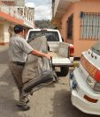 Picop es utilizado por los Bomberos Voluntarios de San Cristóbal Totonicapán debido a carencias. (Foto Prensa Libre: Édgar Domínguez)