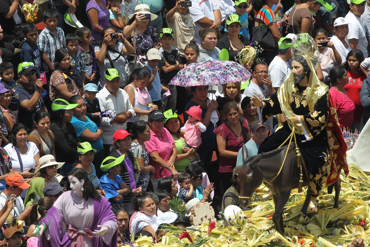 Jesús de las Palmas abre la Semana Santa en Guatemala