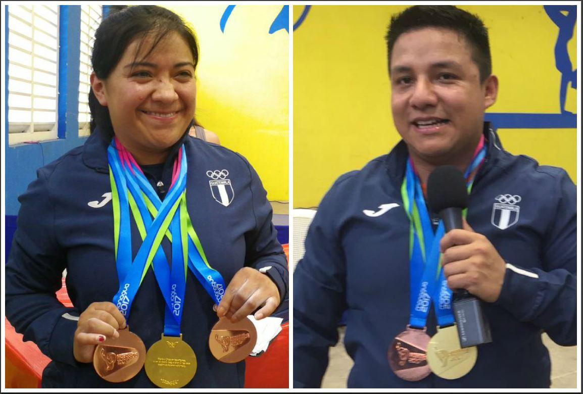 González y Valdizón aumentan los oros para Guatemala
