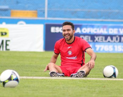 Carlos Kamiani Félix se perdió los últimos tres juegos con Xelajú. El futbolista lleva ocho goles en el Apertura 2018. (Foto Prensa Libre: Raúl Juárez)