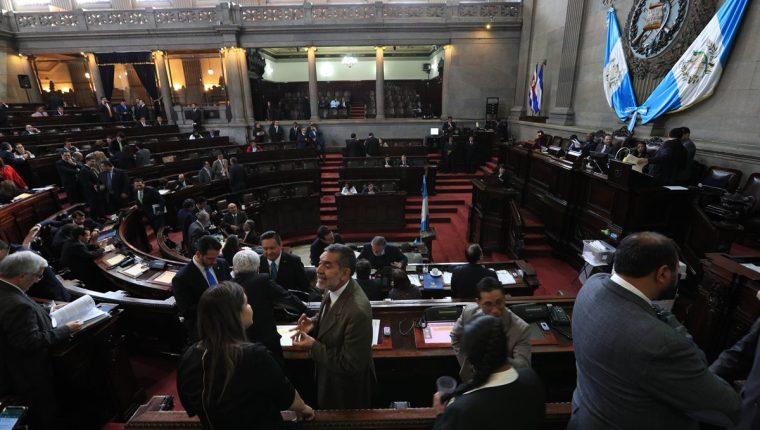 Congreso aprobó ayer en primer debate el dictamen que busca reformar la Ley Electoral y de Partidos Políticos. (Foto Prensa Libre: Carlos Hernández)