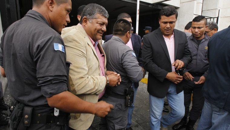 Walter Mendoza Matta es señalado de liderar una estructura que despojo fincas en Petén e Izabal. (Foto Prensa Libre: Paulo Raquec)