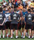 La Selección de España se alista para enfrentar a Croacia en partido de preparación. (Foto Prensa Libre: AFP).
