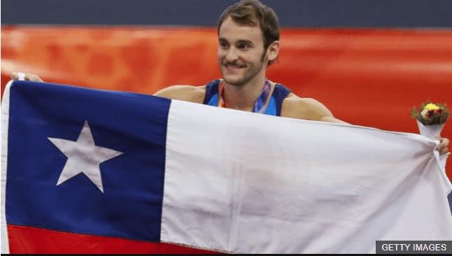 Tomás González es el mejor gimnasta chileno de la historia. (Foto Prensa Libre: BBC News Mundo)