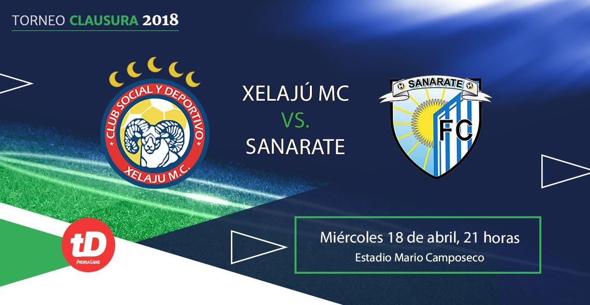 Minuto a minuto | Xelajú MC. vs. Sanarate