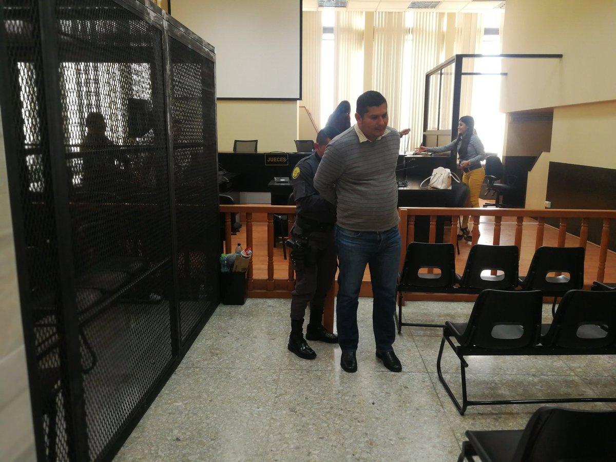 Cristian Francisco Salazar Herrera está procesado por su implicación en la supuesta banda de secuestradores Los Sierra Ovando. (Foto Prensa Libre: Kenneth Monzón)