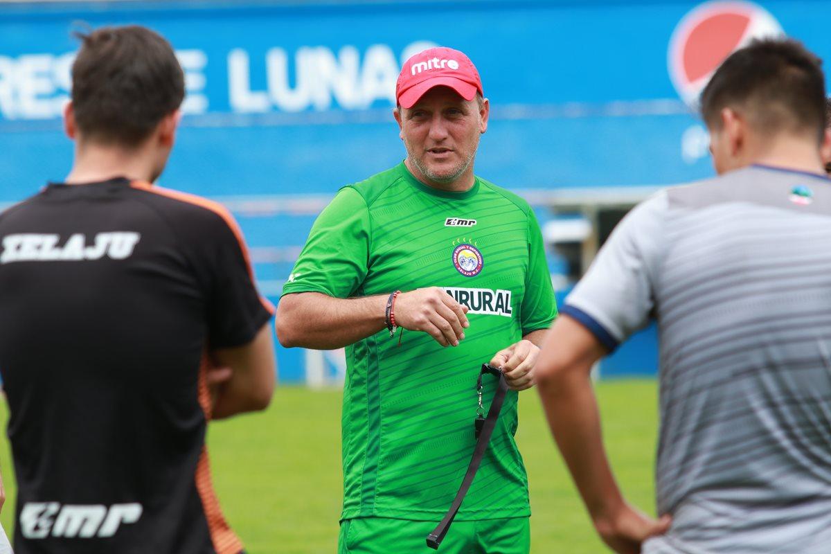 Ramiro Cepeda: Chiantla es un equipo aguerrido, será un partido difícil de jugarlo bien