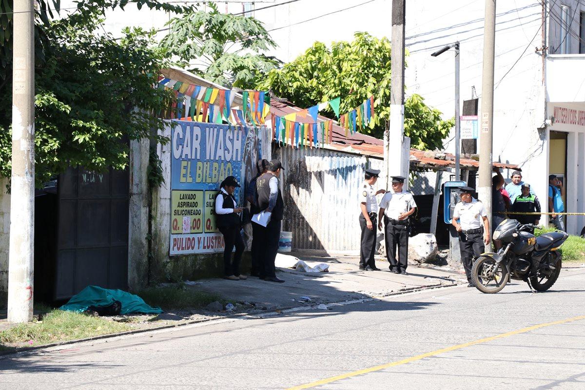 Policía investiga dos hipótesis sobre muerte de agentes en Escuintla