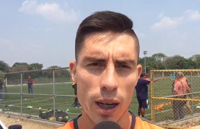 Elías Enoc Vásquez, defensa de Comunicaciones, asegura que el equipo buscará meterse entre los seis clasificados. (Foto Prensa Libre).