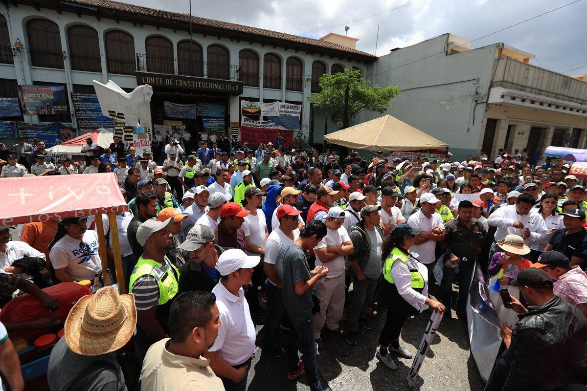 """EE. UU. urge resolución """"pronta y transparente"""" sobre minera San Rafael"""