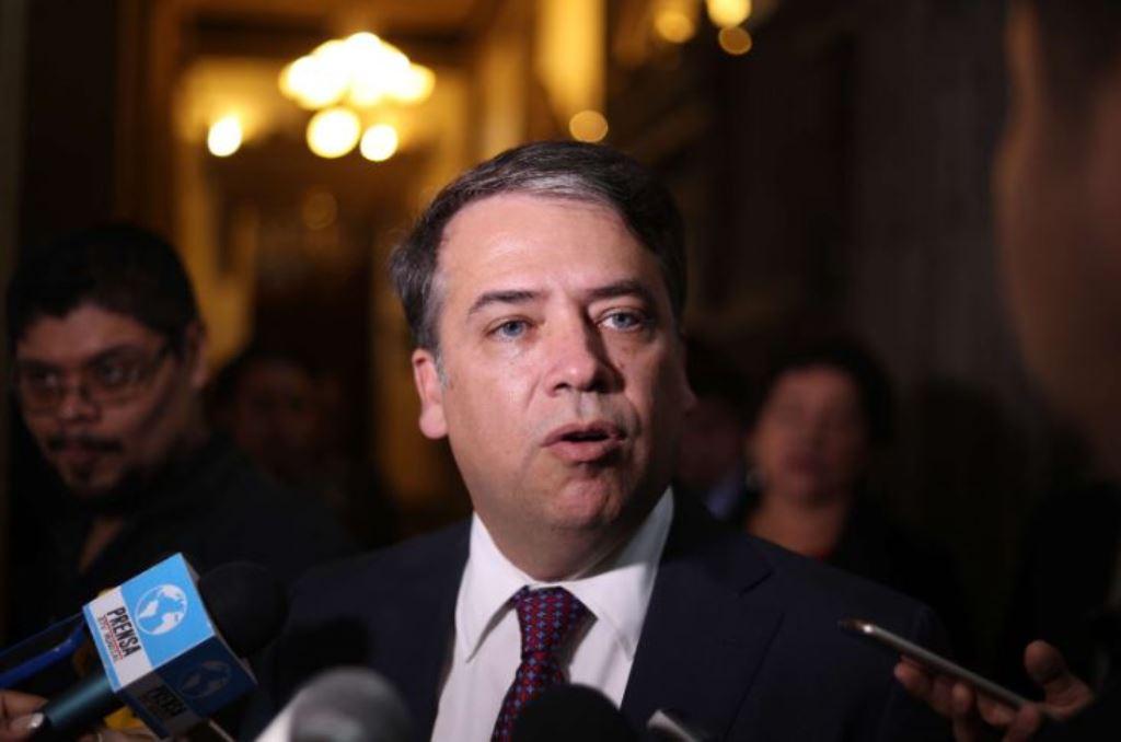 Edwin Escobar, alcalde de Villa Nueva y preside la Asociación Nacional de Municipalidades. (Foto Prensa Libre: Hemeroteca PL)