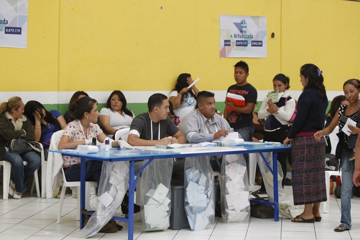 El proceso electoral empezará sin que el Congreso aprobara cambios que demandaba la ciudadanía en 2015. (Foto Prensa Libre: Hemeroteca PL)