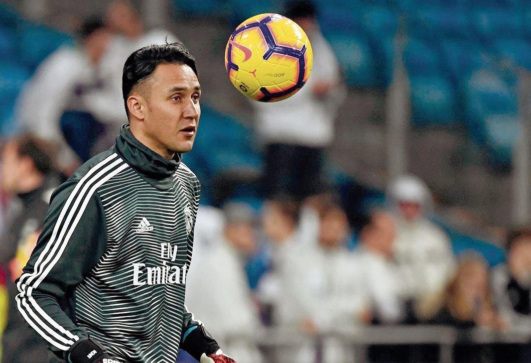 El portero costarricense Keylor Navas se mantendrá en las filas el Real Madrid. (Foto Prensa Libre).