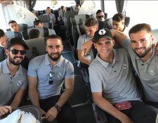 Los jugadores del Real Madrid viajaron este martes a Estados Unidos para cumplir una gira de preparación. (Foto Real Madrid).