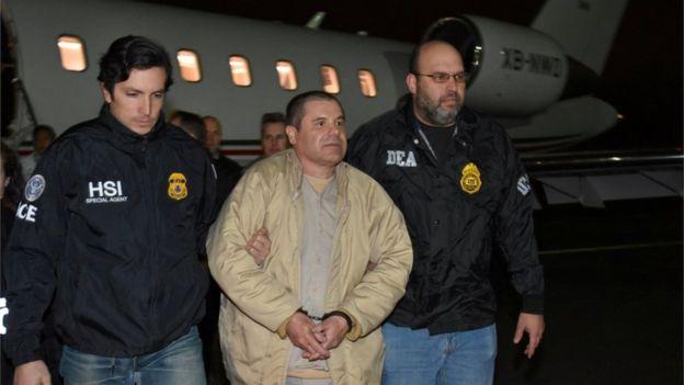 """""""El Chapo"""" fue extraditado a Estados Unidos en enero de 2017. REUTERS"""