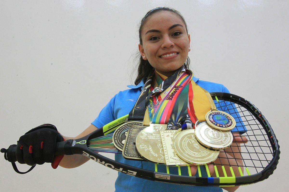Ana Gabriela Martínez vale oro
