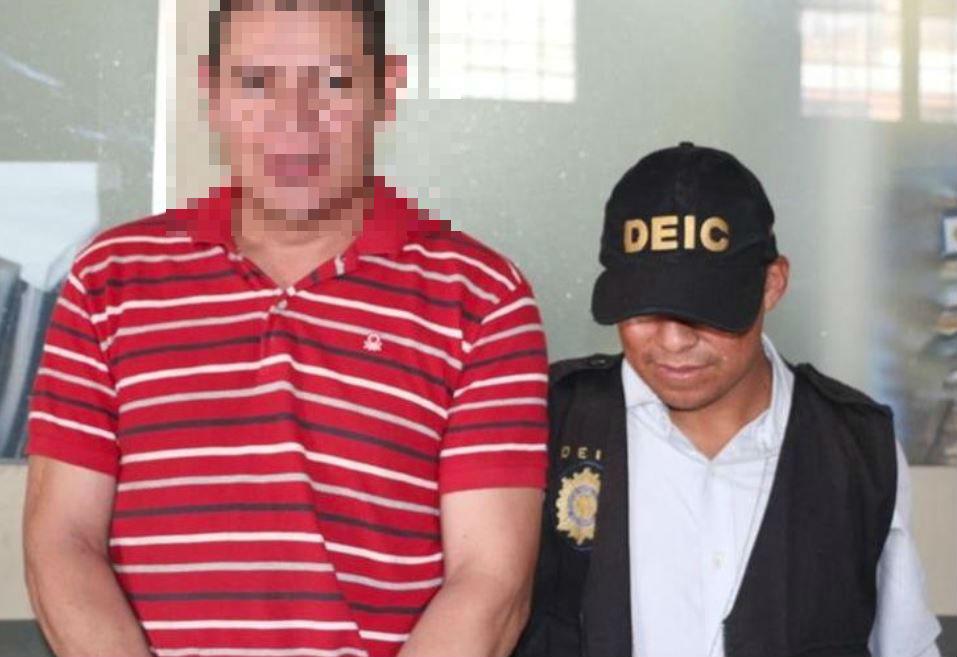 Carlos Antonio Quinteros González fue capturado en el 2016, en la zona 1 capitalina. (Foto Prensa Libre: Hemeroteca)