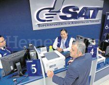 Durante gestión de Francisco Solórzano Foppa en la SAT disminuyó entrega de beneficio fiscal, por mayores controles. (Foto Prensa Libre: Hemeroteca PL)