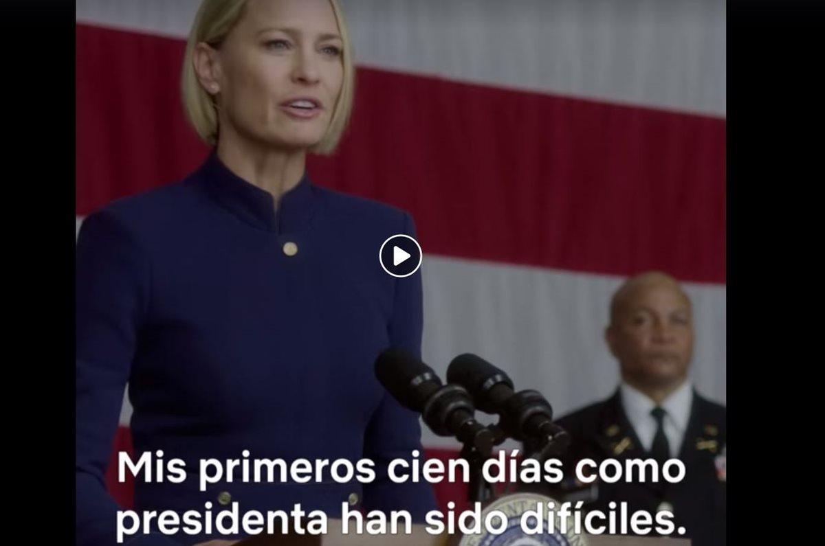 La nueva temporada de la serie de Netflix House of Cards se estrenará el próximo 2 de noviembre. (Foto Prensa Libre: Facebook House of Cards)