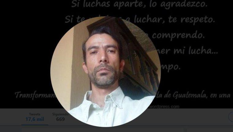 Foto de perfil en Twitter de José Daniel Rodríguez.