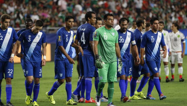 Los seleccionados han sufrido la suspensión porque no juegan desde el 6 de septiembre del 2016. (Foto Prensa Libre: Hemeroteca PL)
