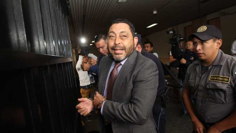 Mauricio López Bonilla fue detenido el sábado 11 de junio. (Foto Prensa Libre: Hemeroteca PL)