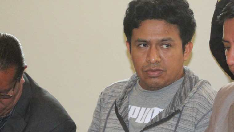 Daniel Lorenzo Pascual es sindicado de un crimen, en Huehuetenango. (Foto Prensa Libre: Mike Castillo).
