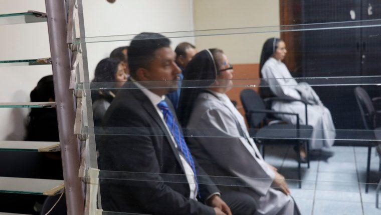 En el juzgado Penal de Sacatepéquez se realiza audiencia de primera declaración por accidente de tránsito en el que fallecieron tres personas. (Foto Prensa Libre: Julio Sicán)
