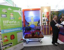 El XI Congreso Nacional de Turismo y II Feria de Proveedores de Hostelería y Turismo se efectúan este lunes y martes. (Foto, Prensa Libre: Érick Ávila).