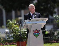 Álvaro Arzú es señalado por el MP de haber pagado bienes y servicios para su campaña política con dinero de la Municipalidad de Guatemala. (Foto HemerotecaPL)