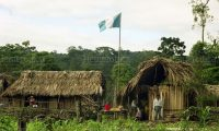 La aldea Tres Puentesse encuentra en la zona de adyacencia entre Guatemala y Belice. (Foto Prensa Libre: Hemeroteca PL)