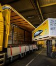 la empresa de transporte de carga con sede en Alemania invierte con los ajustes en innovación para mejorar su servicio. (Foto Prensa Libre: Cortesía)