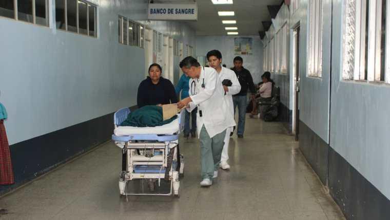 Emergencia del Hospital Nacional de San Marcos. (Foto Prensa Libre: Aroldo Marroquín)
