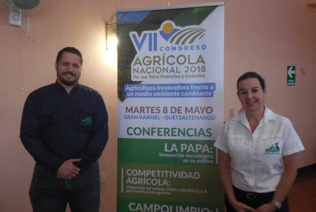 Jorge Hernández e Irene Eduardo representantes de Agrequima