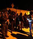 Grupo de patrulleros en Salcajá se atribuye descenso de delincuencia en el municipio. (Foto Prensa Libre: Mynor Toc)