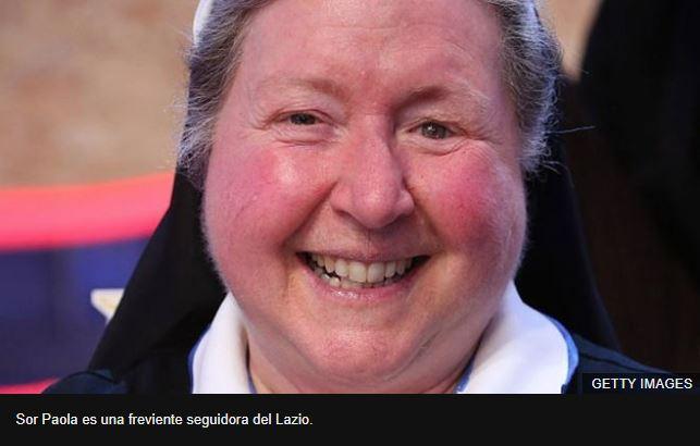 La valiente monja que desafía a los ultras misóginos del Lazio