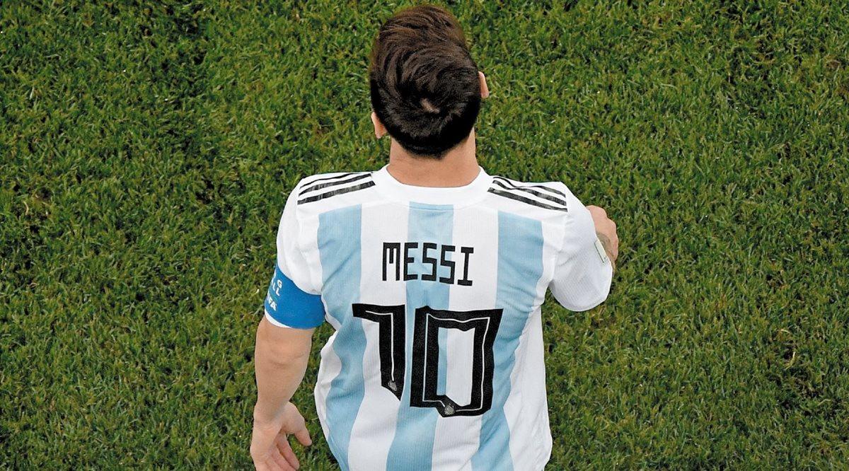 Lionel Messi será el gran ausente para enfrentar a México. (Foto Prensa Libre: Hemeroteca PL)