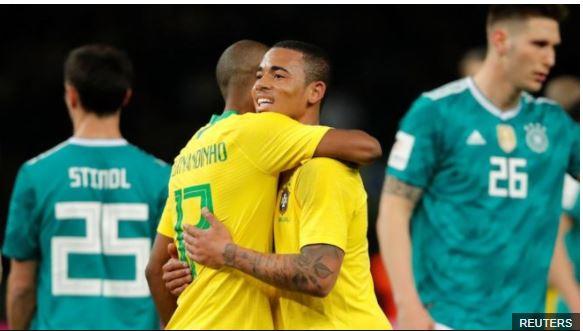 Brasil nunca podrá olvidar el 7-1 que recibió en 2014, pero tras su victoria contra Alemania confirmó su favoritismo a ganar el mundial de Rusia 2018