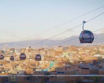Bogotá inaugura su primer teleférico de transporte masivo