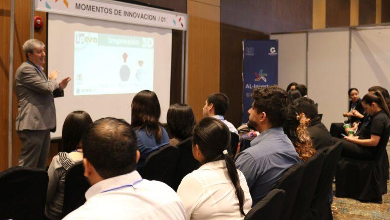 Temas de innovación para empresas y emprendedores serán discutiros en 24 foros en Innovacción 2018 este 28 y 29 de agosto. (Foto, Prensa Libre: Agexport).