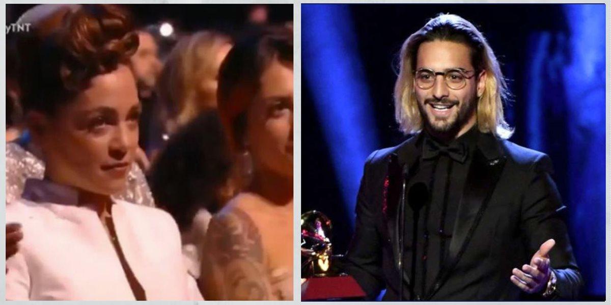 Natalia Lafourcade y Maluma se volvieron el centro de atención luego de la entrega de los Latin Grammy 2018. (Foto Prensa Libre: Hemeroteca PL)