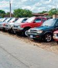 Según datos de la SAT de enero a julio se han importado más de 94 mil unidades, de las que carros usados son cerca de 77 mil. (Foto Prensa Libre: Hemeroteca)