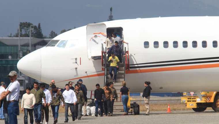El 40 por ciento de las deportaciones son vía aérea, según Migración. (Foto: Hemeroteca PL)