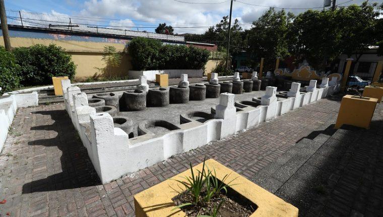 El tanque municipal San José ya no es utilizado, pero es lugar de distracción para vecinos. Algunos residentes del área recuerdan con nostalgia cuando aún funcionaba. (Foto Prensa Libre: Esbin García)